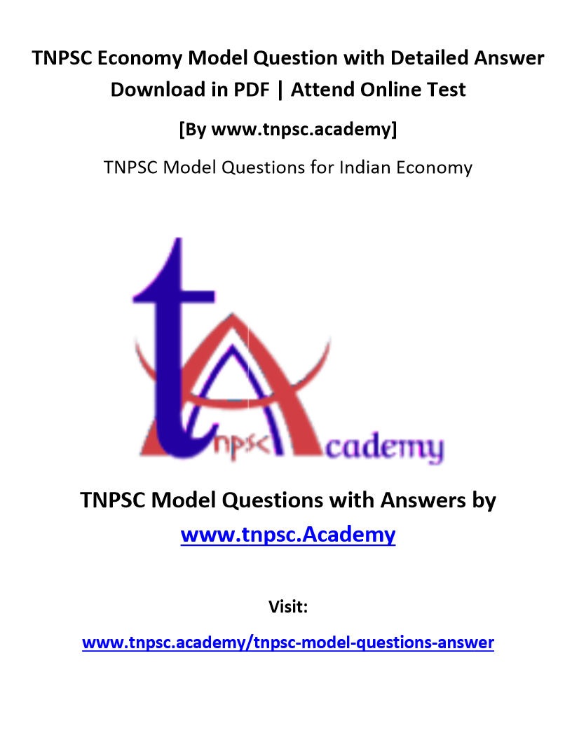 tnpsc economy question image