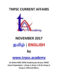 Daily TNPSC November 2017 Current Affairs