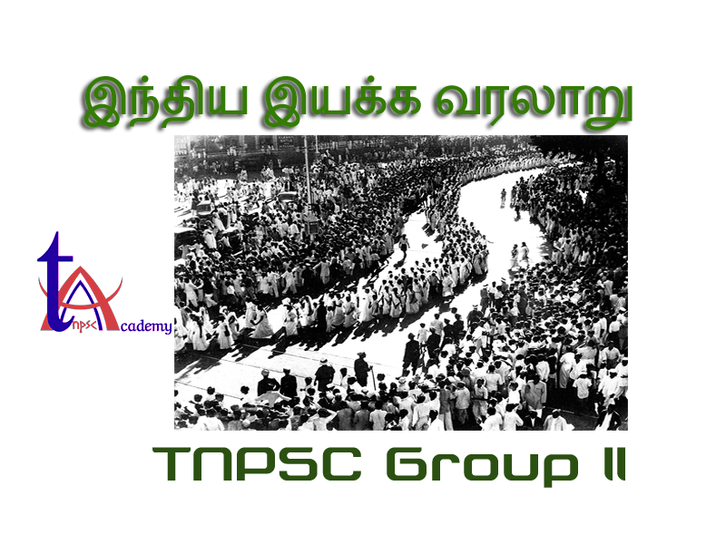 Group 2 Indian National Movement